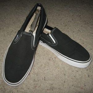 Vans Mens Deck Shoes - Black 13